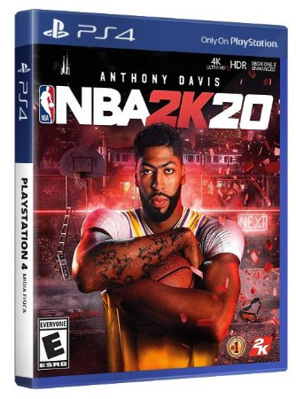 NBA 2K20 PS4 Mídia Física