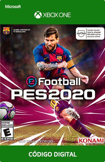 PES 2020 Xbox One Código