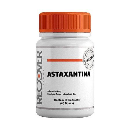 Astaxantina 4mg - 60 Cápsulas (60 doses)
