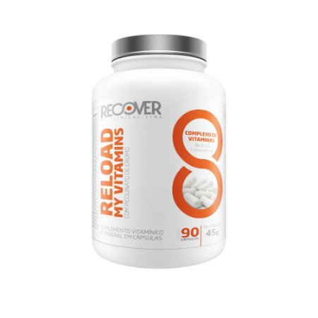 Reload My Vitamins 90 Cápsulas -Multivitamínico