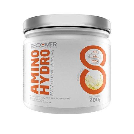 Amino Hydro 200g BCAA + Sais Minerais - Sabor Maracujá