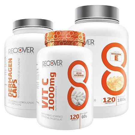 Kit Skincare - Dermagen Verisol + Vitamina C + LINOLEIC + COCONUT