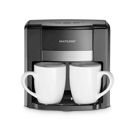 Cafeteira 2 Xícaras 500W 127V Preto Multilaser - BE009