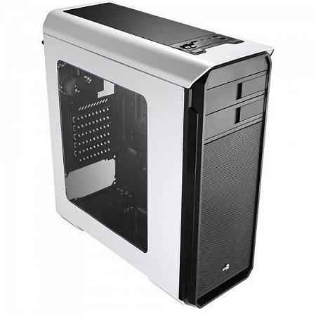 Gabinete Gamer Mid Tower AERO-500 WINDOW EN55583 Branco AERO