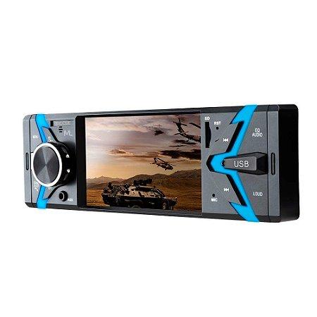 Som Automotivo Groove Tela 4 Pol. 1 Din Bluetooth Mp5 4x45WR