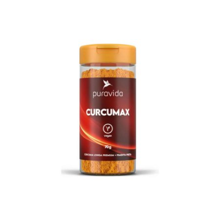 CURCUMAX PREMIUM CÚRCUMA LONGA 95% PREMIUM 70g, PURAVIDA