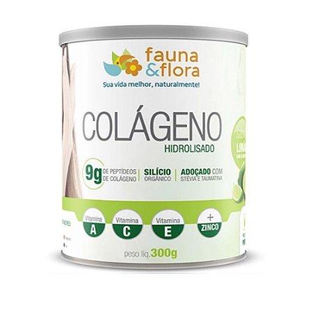 Colágeno Hidrolisado com Silício Org zero sabor Limão 300g