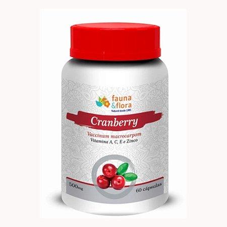 Cranberry Vitamina A, C, E e Zinco 500mg 60Caps