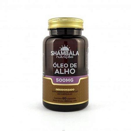 Óleo de Alho Desodorizado 500mg 60 Capsulas