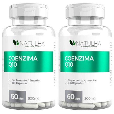 Kit 2x Coenzima Q10 (Ubiquinona) 60 Capsulas