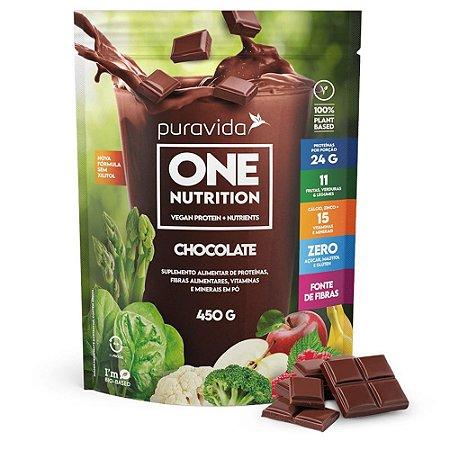 One Nutrition Chocolate 450g, Puravida