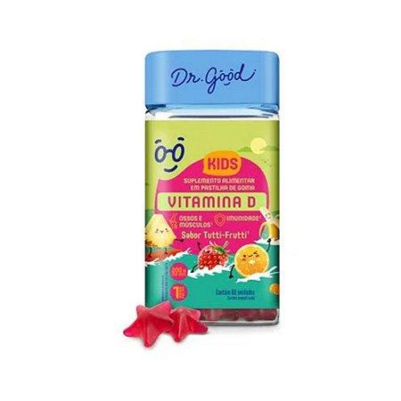 Vitamina D Kids Dr Good Suplemento Gomas Tutti Frutti C/60