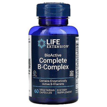 Complexo B Completo, Life Extension, , BioAtivo, 60 Cápsulas