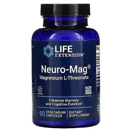 Neuro-Mag, Life Extension, Magnésio L-Treonato, 90 Cápsulas
