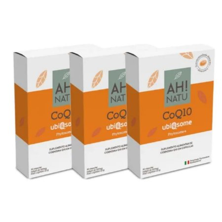 Coenzima Q10 Ubiqsome Phytosome® Leve 3 Pague 2 - Ah! Natu