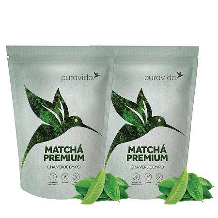 Kit 2x Matchá, Chá Vegano, Zero Aditivos, Antioxidante 100g