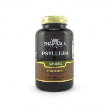 Psyllium 120 cápsulas de 640mg