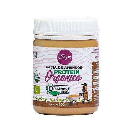 Pasta Amendoim Orgânico Protein Organ 200g