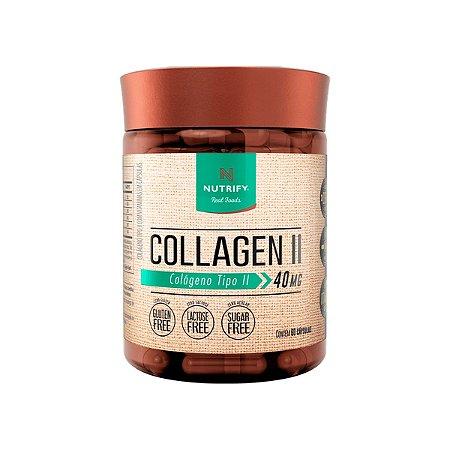 Colágeno Tipo II 60 Capsulas, Nutrify