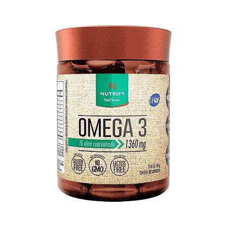 Ômega 3 TG Ultra concentrado EPA840mg DHA521mg Vitamina E