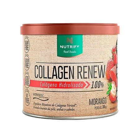 Colágeno Renew Sabor: Morango 300g, Nutrify