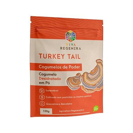 Turkey Tail Cogumelos De Poder Viva Regenera 100g