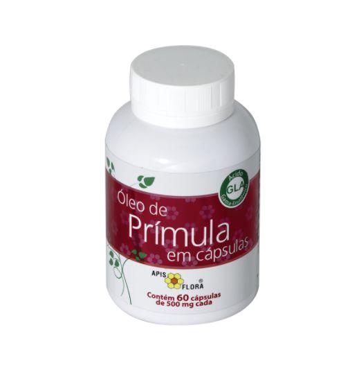 Óleo de prímula 60 Cápsulas de 500mg