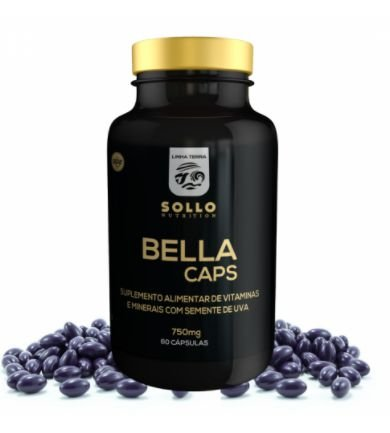 Bella Caps - Cabelo, Unha e Pele - 60 capsulas