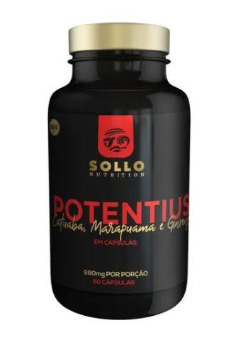 Potentius (catuaba, Marapuama e Ginseng) - 60 capsulas