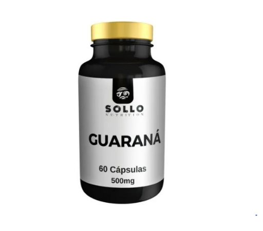 Guaraná 500mg - 60 Cápsulas