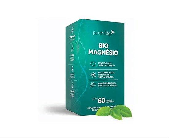 Bio Magnésio 60 Cáps 1200mg Pura Vida