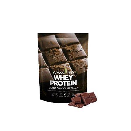 Whey Protein Puravida 450g, Chocolate Belga, Puravida