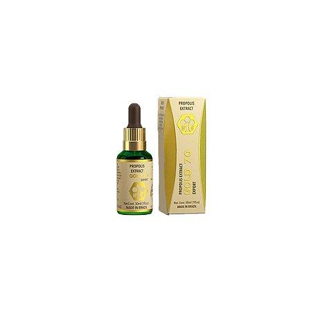 3x Própolis Gold 70 Extrato 30ml, Imunidade - Wax Green