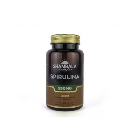Spirulina 60 cápsulas de 550mg - Shambala