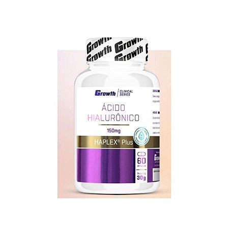 ÁCIDO HIALURÔNICO 60 CAPS VEGANAS HAPLEX - GROWTH SUPPLEMENT