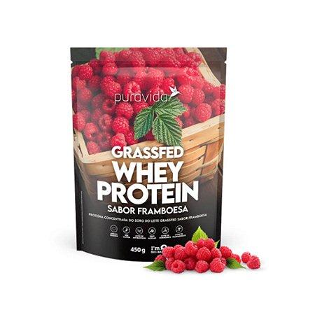 Whey Protein Puravida 450g, Framboesa