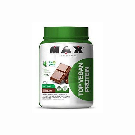 Whey Vegan Protein Pote 600G Chocolate - Max Titanium