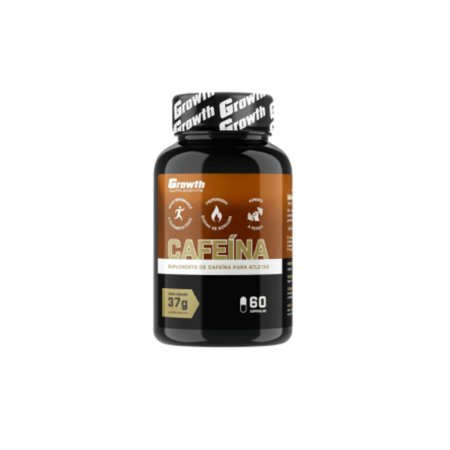 Cafeina (420MG) 60 caps - Growth Supplements (thermogenico)