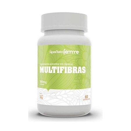 MULTIFIBRAS 500MG 60 CPS APISNUTRI .