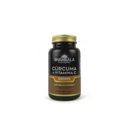 Cúrcuma com Vitamina C 60 cápsulas de 650 mg
