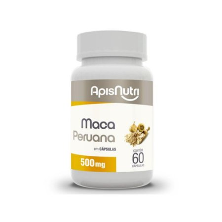 Maca Peruana 60 Caps 500mg