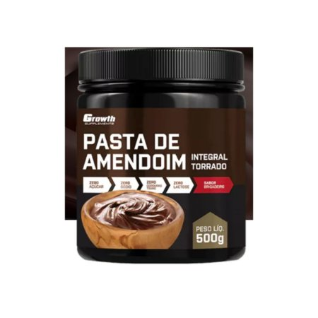 Pasta de Amendoim sabor Brigadeiro 500gr - Growth Supplement