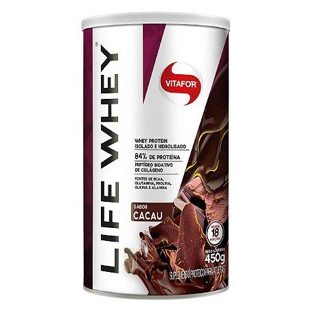 Life Whey Sabor Cacau (brown) 450g - Vitafor