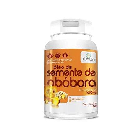OLEO DE SEMENTE DE ABOBORA 1G - 60 SOFTCAPS