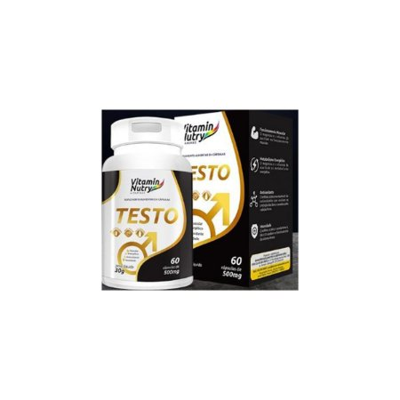 Testo Metabolismo e Energia para homens VitaminNutry 60 CAPS