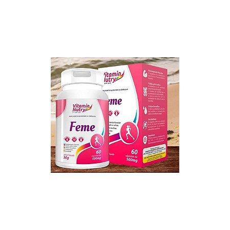 Multivitamínico VITAMIN NUTRY AZ  FEMININO - 60 CAPS