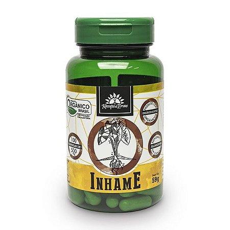 Inhame orgânico 100cps de 500mg, Capsulas Vegana
