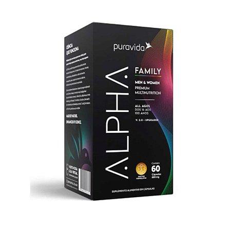 ALPHA FAMILY MEN & WOMEN PREMIUM MULTINUTRITION PURAVIDA