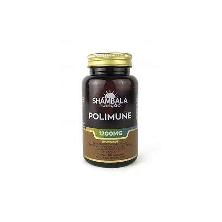 Polimune própolis com vitaminas e minerais 30 cáp de 1200mg
