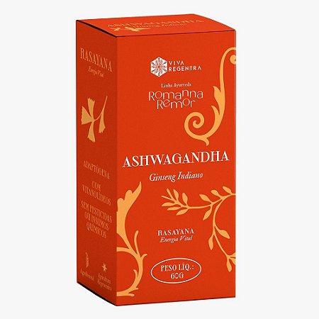 Ashwagandha Viva Regenera Ginseng Indiano Adaptógeno Pó 60 G